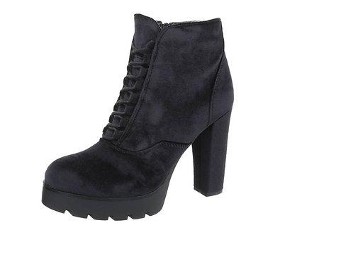 Velvet Stiefelette black - Preis incl. MwSt. zzgl. Versand