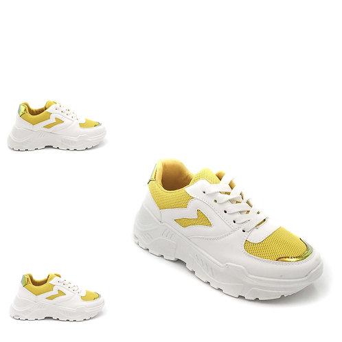 Chunky  Sneakers gelb - Preis incl. MwSt. Zzgl. Versand