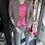 Thumbnail: Maritime Streifen Leinen Jacke / Blazer mit Pailletten an den Ellbogen/Kragen