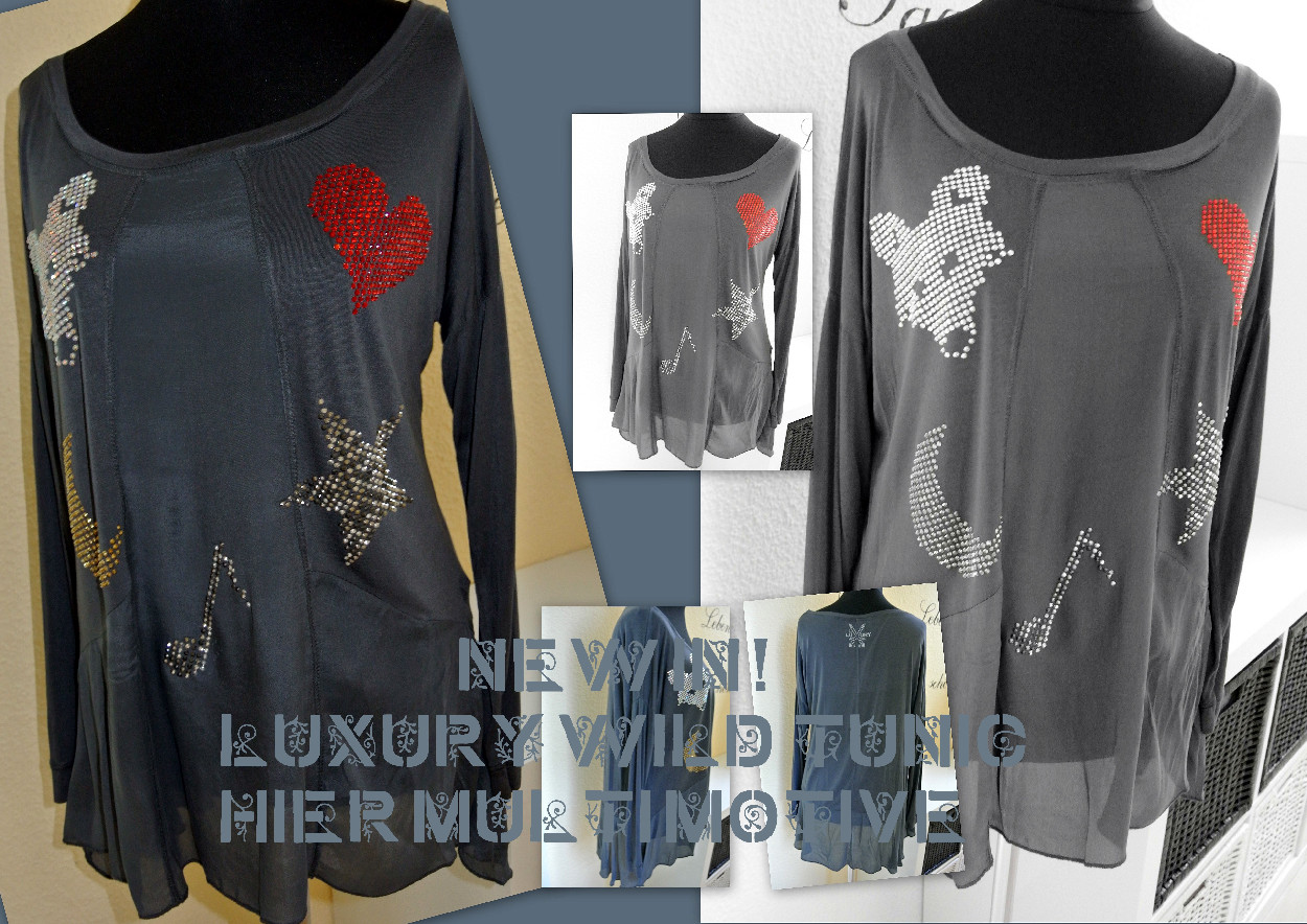 LUXURY FOX TUNIC