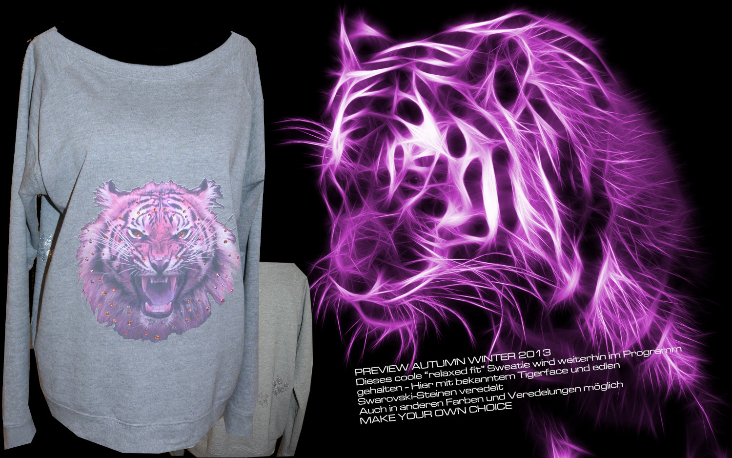 LUXURY PINK TIGER