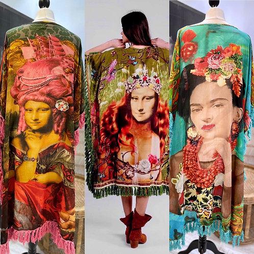 Exclusive Baumwoll Kimonos in 3 Farben und Styles