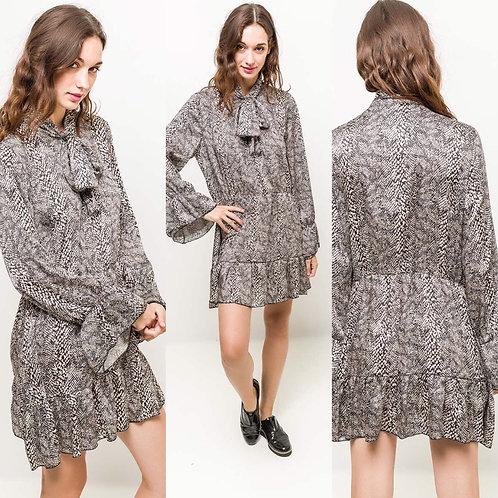 Kleid mit Schlangenprint - Preis incl. MwSt. zzgl. Versand