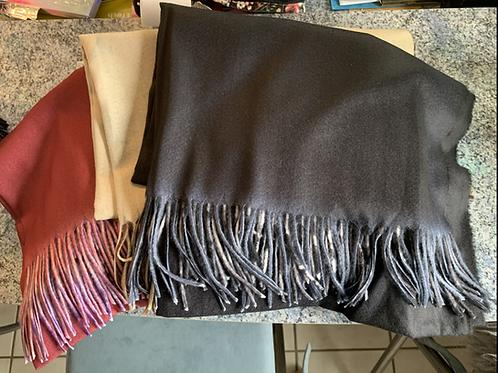 Süßer Motiv Schal in 3 Farben - Preis incl. MwSt. Zzgl. Versand