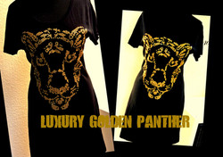 LUXURY GOLDEN PANTHER