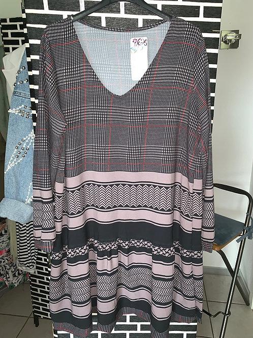 Tunika / Kleid in 2 Farben - Preis incl. MwSt. zzgl. Versand