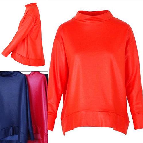 Sweatshirt in Lederoptik- Preis incl. MwSt. Zzgl. Versand