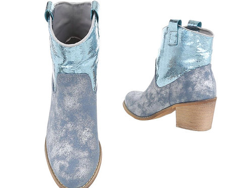 Western Boots Aqua blau  - Preis incl. MwSt. zzgl. Versand