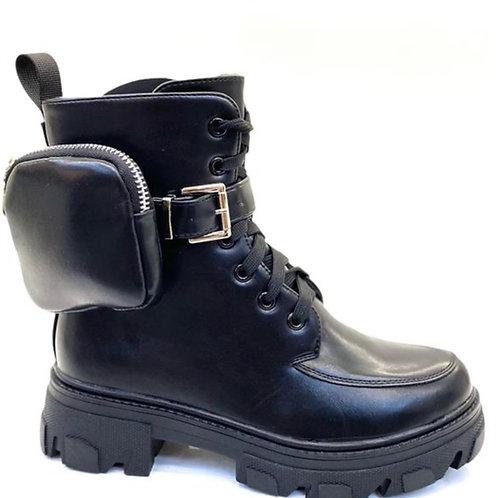 Monolith Biker Boots Stiefelette - Preis incl. MwSt. Zzgl. Versand