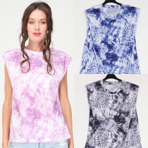 "Viskose Batik Shirt ""Jasmin"" - Preis incl. Mwst. Zzgl. Versand"