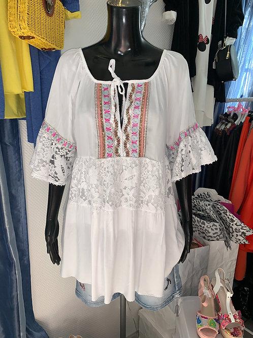 Tunika / Bluse Boho Vibes Viskose Hippie Style