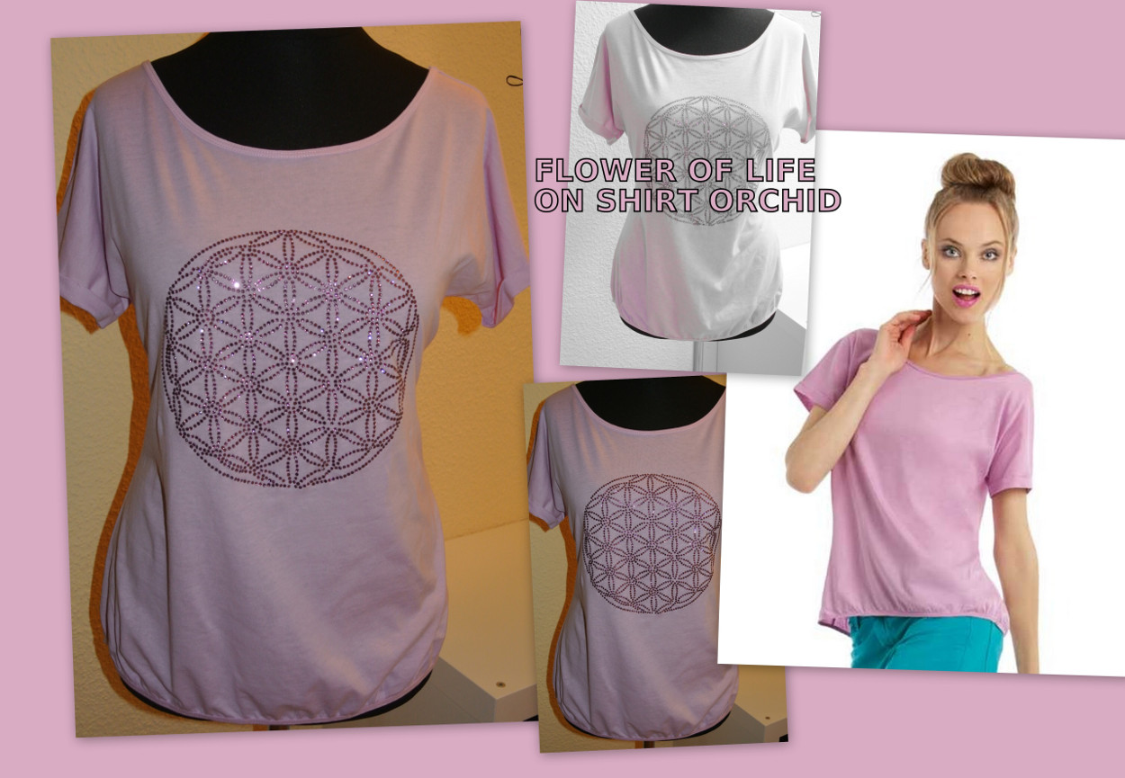 FLOWER OF LIFE PINK