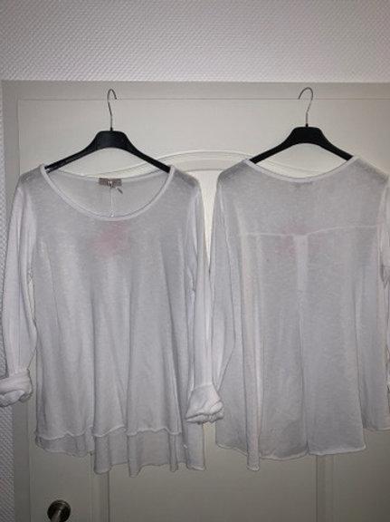Esvivid Baumwolle Shirt mit Rundhals Ausschnitt -Preis incl. MwSt. Zzgl. Versand