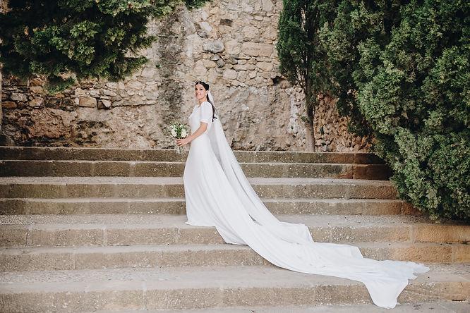 Bibiana Cabello bespoke wedding gown