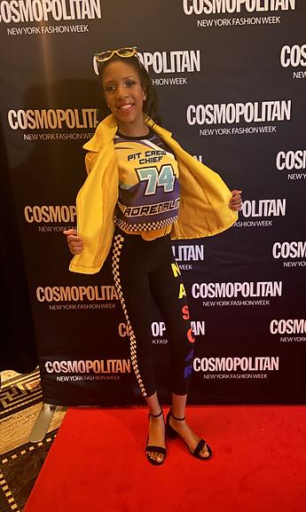 Kiki C x Cosmopolitan NYFW