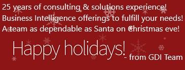 GDI eNews: Happy Holidays!