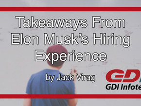 Takeaways from Elon Musk's Hiring Experience