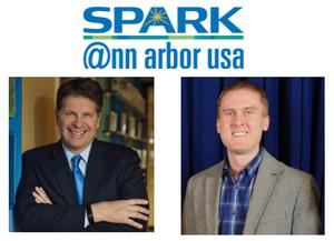 Paul Krutko and Phil Santer of Ann Arbor SPARK