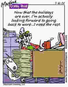 Maxine comic. Back to work.