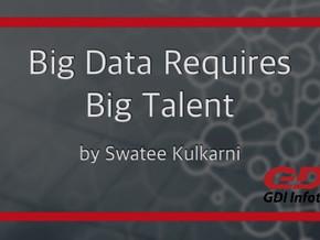 Big Data Requires Big Talent