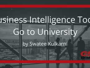 Business Intelligence Tools Go to University
