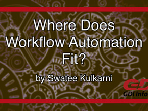 Where Does Workflow Automation Fit?