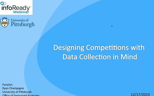 U Pitt - Designing Competitions screensh