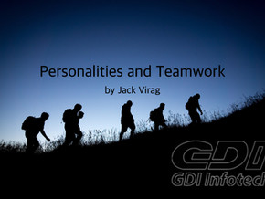 Personalities and Teamwork