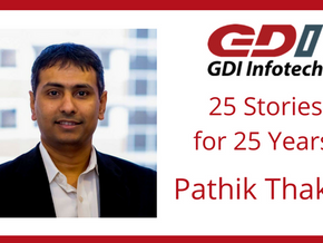 Building Relationships: Pathik Thaker's Story with GDI