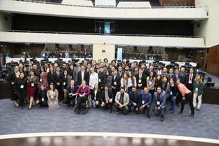 Parlamento Universitário traz estudantes para vivenciar prática da política