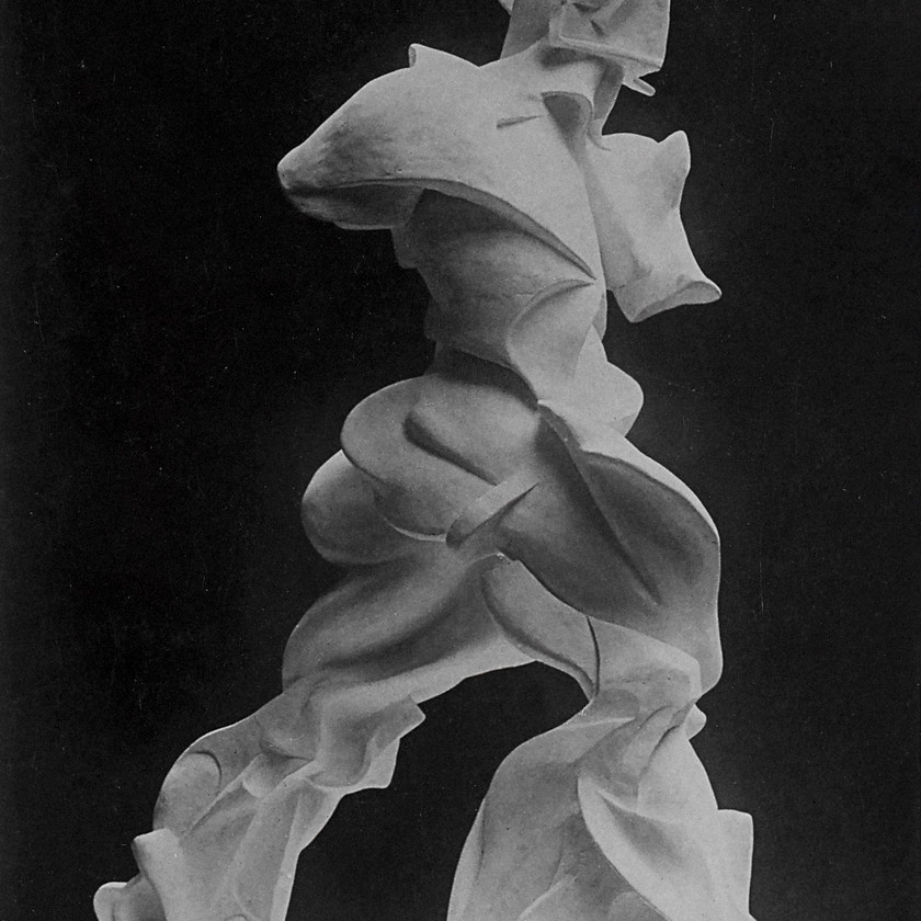 Spiral Expansion of Muscles in Movement 1913 Boccioni