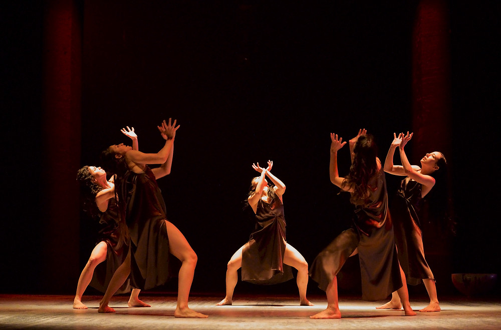 Viviana Durante Company,Isadora Now, Dance of the Furies, image credit DavidScheinmann