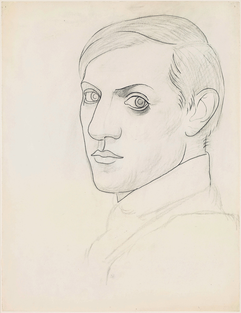 Pablo Picasso, Self-portrait, 1918