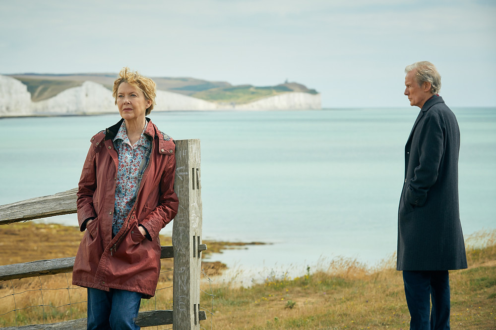 Annette Bening & Bill Nighy in Hope Gap on the Sussex Coast