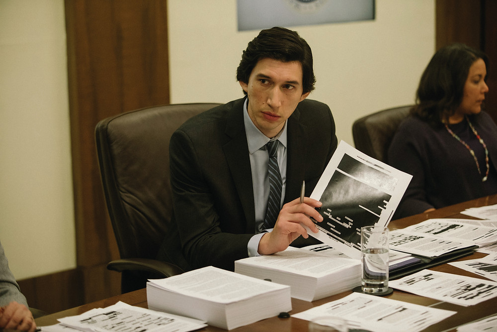 Adam Driver features with Annette Bening in The Report, uncovering the CIA's cover-up
