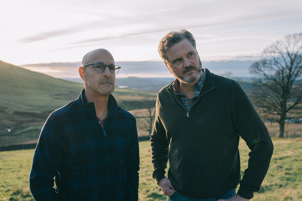 "Stanley Tucci and Colin Firth in ""Supernova"" 2020"