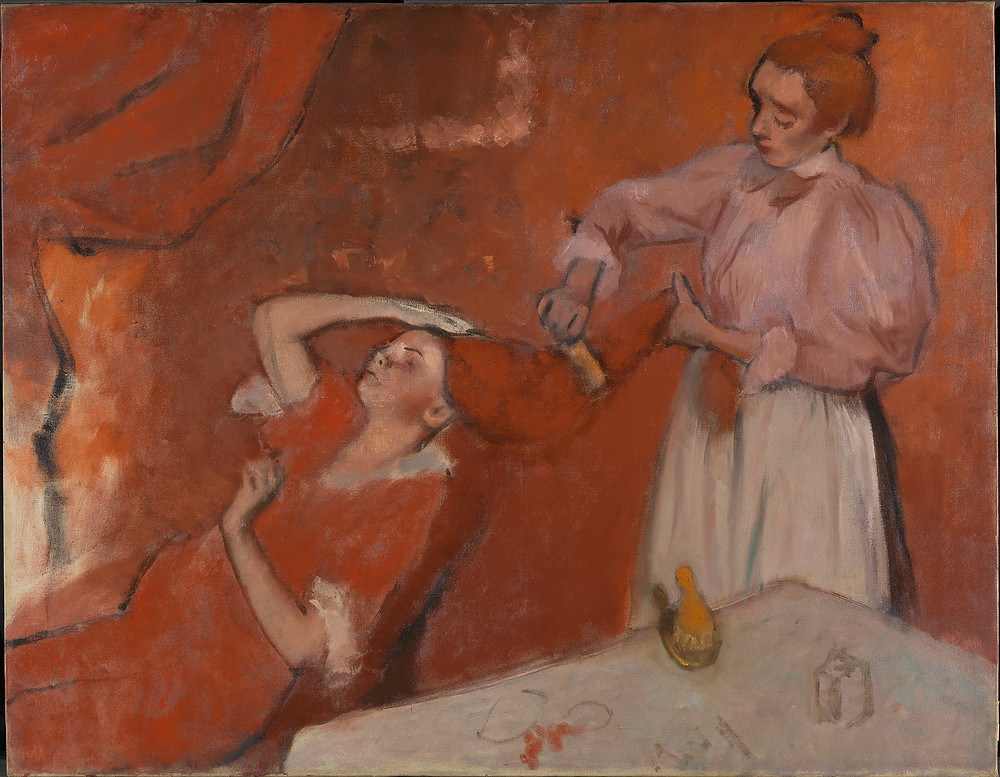 Combing the Hair ('La Coiffure') Hilaire-Germain-Edgar Degas about 1896
