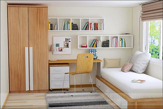 Study Room Design at Lotus panache, Noida