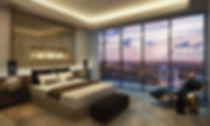 Master Bedroom design for Ireo Grand Arch, Gurugram