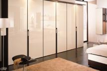 Long shutter wardrobe design