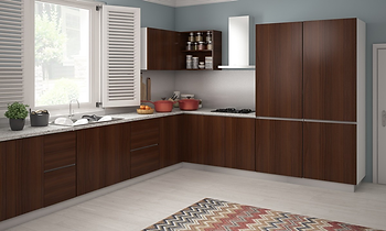 Modular Kitchen at Prateek Wisteria, Noida