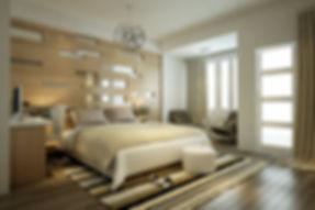 Bedroom Design in Lotus Panache, Noida