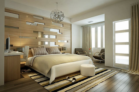 Bedroom Design in Lotus Panache, Noida