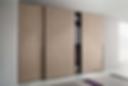 Sliding wardrobe for Master bedroom