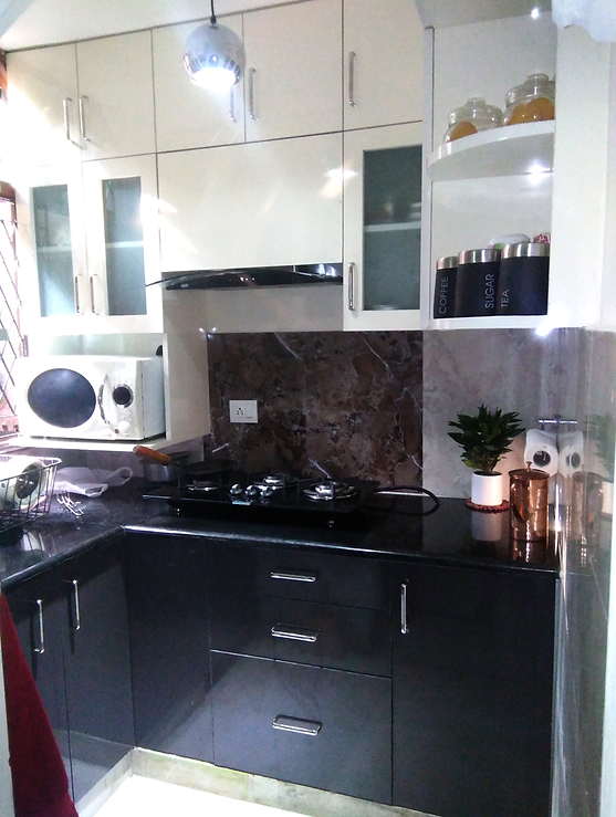 Small Modualr kitchen design