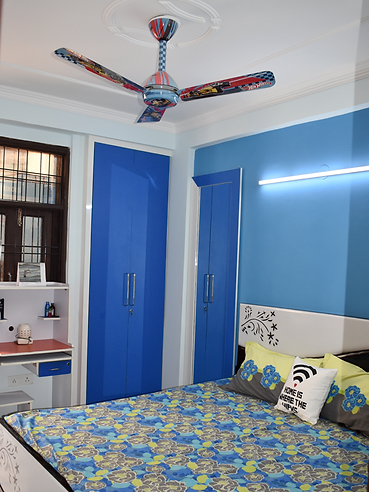 Kids Room Wardrobe & Mirror design