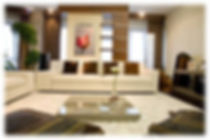 Interior work at Mahagun Moderne, Noida