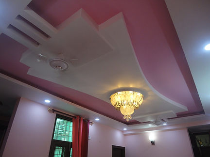 False Ceiling work in Noida Apatments