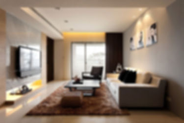 Living room design at Lotus Panache, Noida