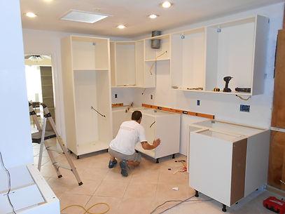 Modular kitchen Installation by Jeetu Interiors